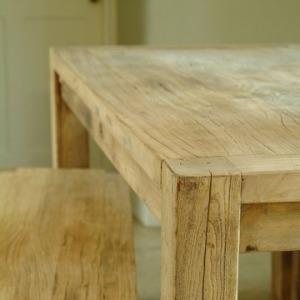 Reclaimed elm furniture set