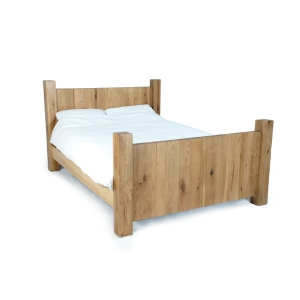 Chunky Wooden Bed