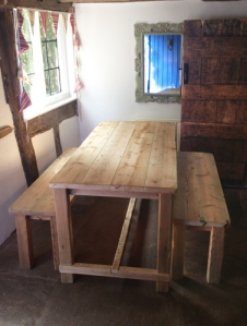 Dining Set made from reclaimed wood