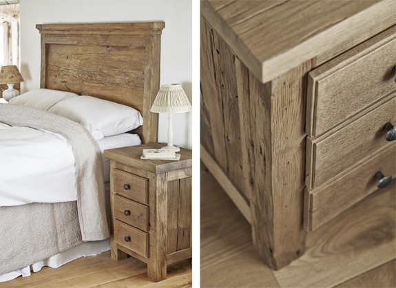 Celebrate The Beauty Of Unadorned Salvaged Oak With Our New Bedroom ...