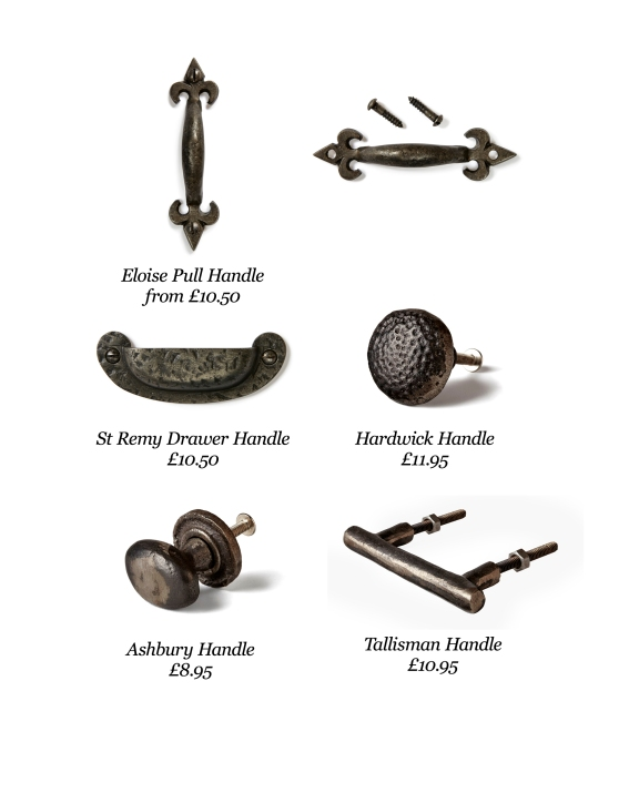 pewter handles and knobs